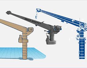 D-6000 RHIB Crane 3D print model