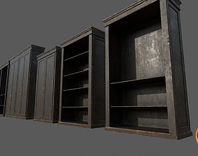 OldCupboard Pack01A 3D model realtime