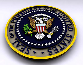 Presidential Seal 3D the