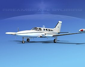 Cessna 414 Chancellor V04 3D