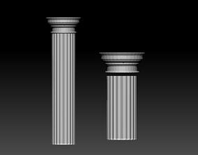 Doric Column 3D printable model