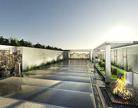 Park - Water Garden - Bosque 3D model