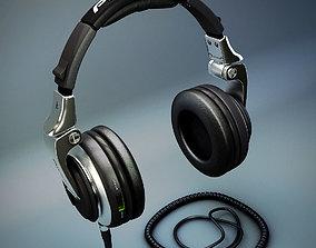 3D Pioneer HDJ-2000 DJ Headphones