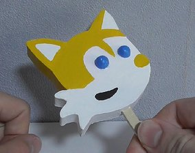 Tails Popsicle 3D print model