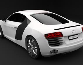 AUDI R8 car wheel 3D model