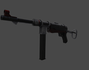 3D model MP40 Maschinenpistole 40