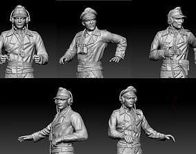3D printable model German officers
