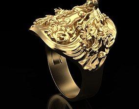 3D printable model Ring Mermaid