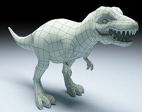 T- Rex Low Poly 3D asset
