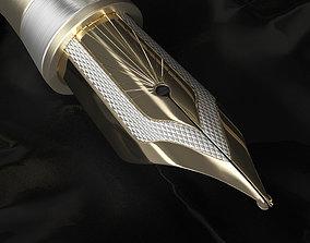 Luxury Fountain Pen 3D