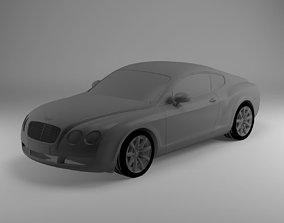 Bentley continental 3D model VR / AR ready