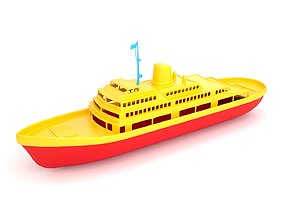 Toy Ship 1 3D model