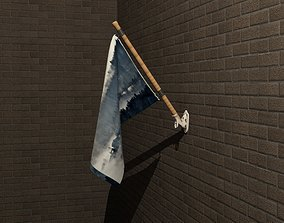 3D wall-mount Wall Mount Flag