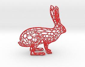 Rabbit 3D print model