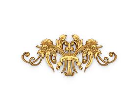 Classic decor ornament 33 3D print model