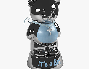 Bear coin bank 2 3D