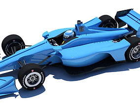 Indycar 2018 - Road 3D model