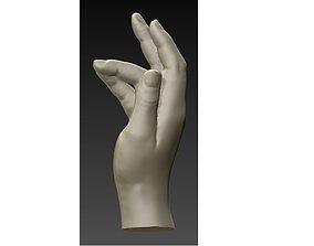 3D printable model Hand realistic