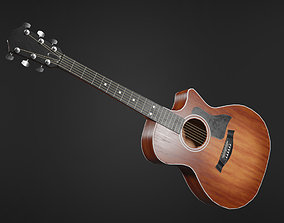 3D asset Clean Acoustic Guitar