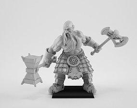 Slayer Dwarf 3D print model