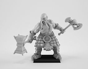 Slayer Dwarf 3D print model