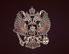 3D print model Russian coat of arms eagle