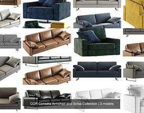 3D COR Conseta Armchair and Sofas Collection