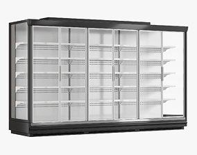 3D model Supermarket Freezer Tecto 3