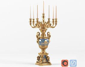 3D model Classic desktop Candlestick BALDI