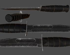 3D asset knife 3