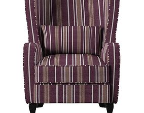 3D model George Wingback Chair