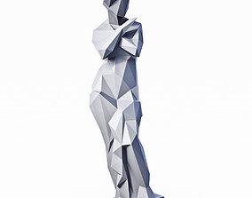 Louvre Psyche Low Poly 3D asset