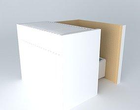 Laundry room interior 3D model