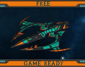 3D asset UAV Trident FREE