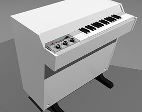 3D model Vintage Keyboard - Mellotron M400