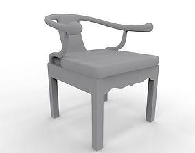 Miniature 3d Print Ready Chair 37