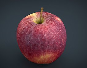 Red Apple 3D model