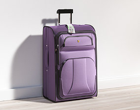 3D model Travel suitcase