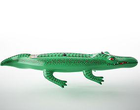 inflatable crocodile 3D model