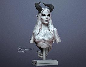 portrait Maleficent - 3D printing ready