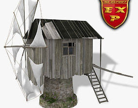 3D model Windmill old