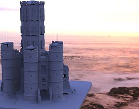 3D model Medieval Towers