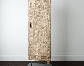 3D Asmat Door Decor
