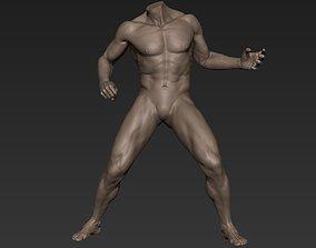 Male Full Body Sculpt Pose 8 3D model