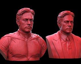 Batman - Ben Affleck Bust 3D print model wayne
