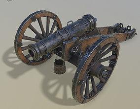 Cannon Unicorn 3d model realtime