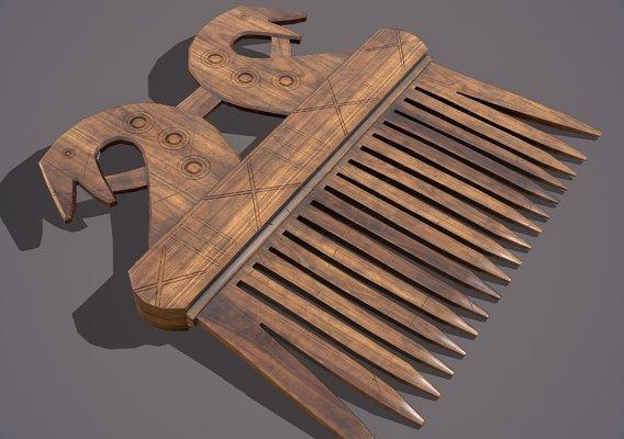 Comb Light Wood
