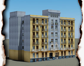 3D model game-ready Building madrid
