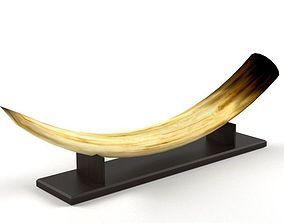 various 3D Elephant tusk decor