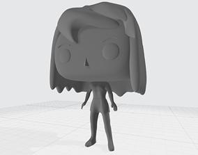 Funko Pop Custom Girl 3D Printable